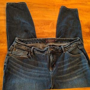 Torrid Premium dark wash jeans size 18r